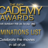 Who Should Win at the 84th Academy Awards?