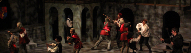 Richard III for Wolf Theatre Academy | Lighting Design