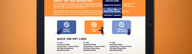 Top Dog Recruiting, LLC | Website Design