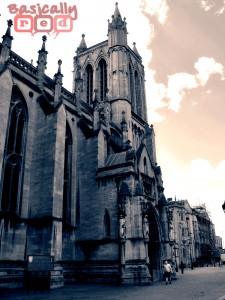 Cathedral Split Toning 2, Bristol, England - BasicallyRed.com