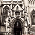 Cathedral Doors, Bristol, England - BasicallyRed.com