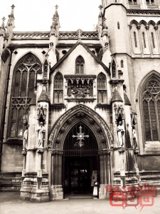 Cathedral Doors, Bristol, England - BasicallyRed.com