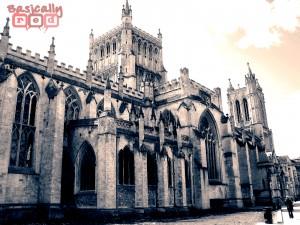 Cathedral Split Toning, Bristol, England - BasicallyRed.com