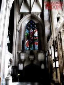 Colored Glass, Bristol Cathedral - BasicallyRed.com