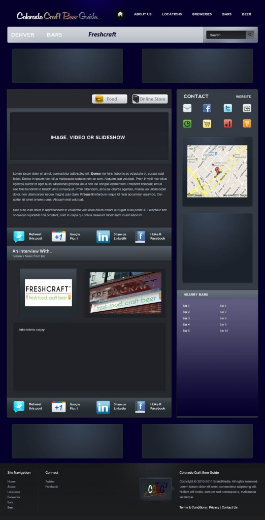 Sample Denver Bar Profile Page