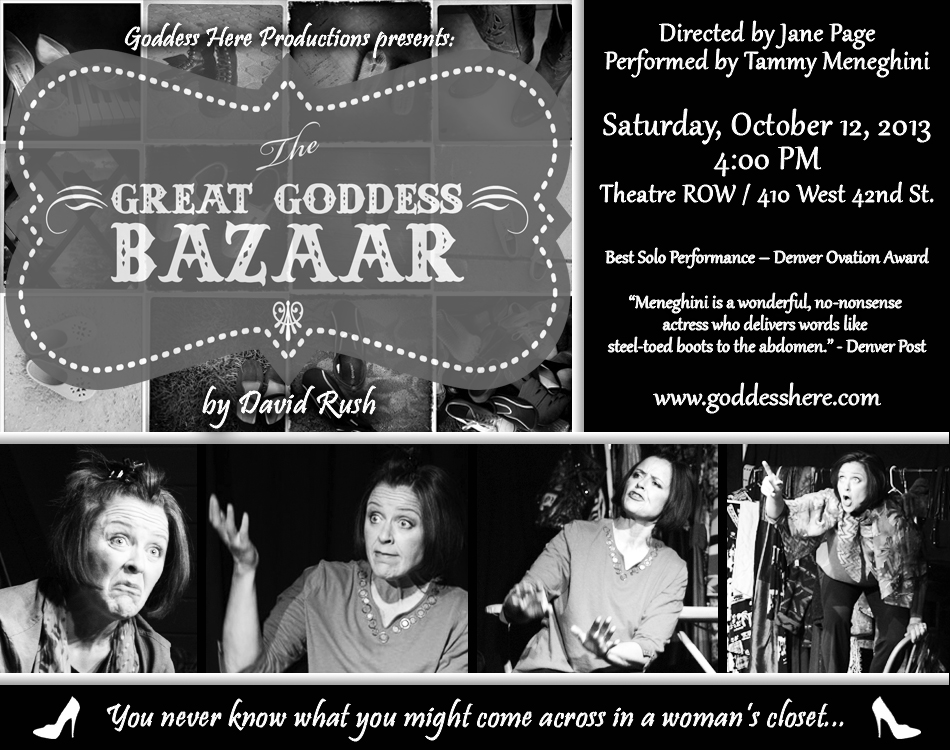 United Solo Festival Ads for Goddess Here Productions