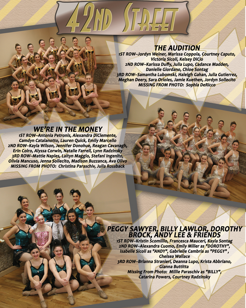 Ads for Dance Show Program