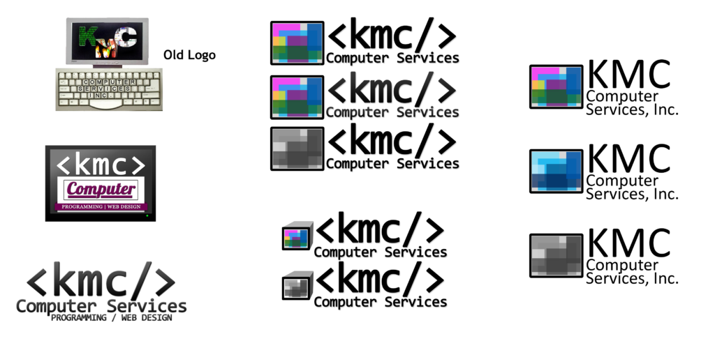 KMC Logo Versions