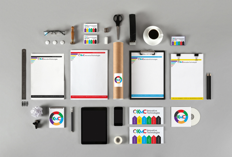 KMC Innovative Technologies Branding by BasicallyRed