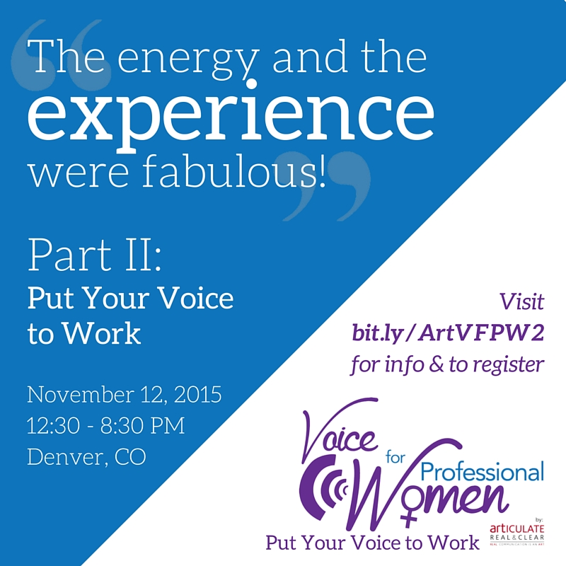 Voice for Professional Women Series (Print and Digital)