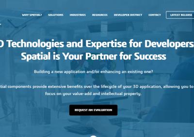 Spatial Corp Website