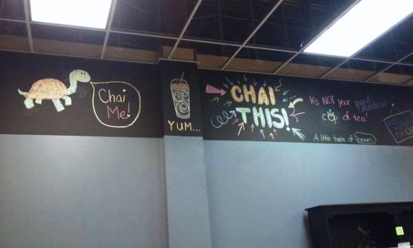 Kataluma Chai Chalkboard Signage