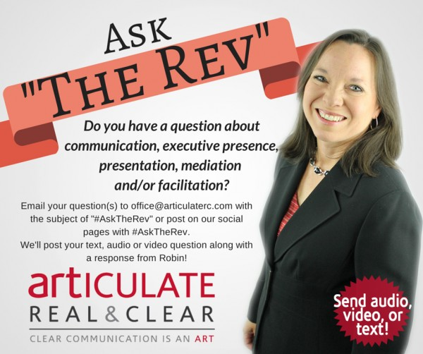Ask The Rev