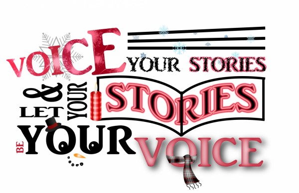 Voice Your Stories Holiday Card